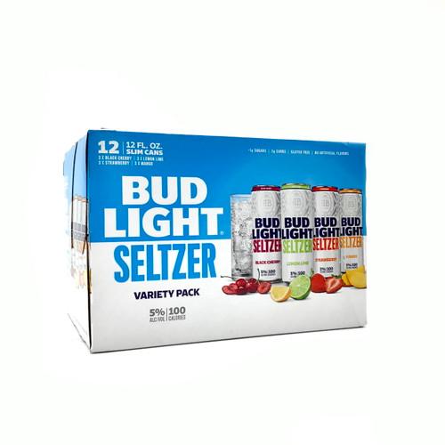 BUD LIGHT SELTZER VARIETY 12pk 12oz. Cans