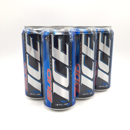 BUD ICE 6pk 16oz.Cans