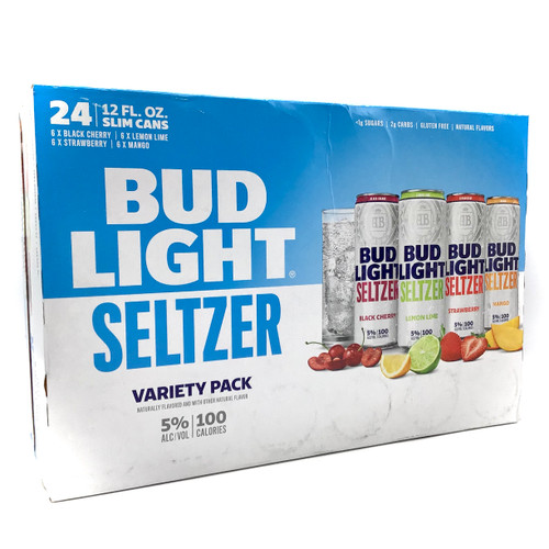BUD LIGHT SELTZER VARIETY 24pk 12oz. Cans