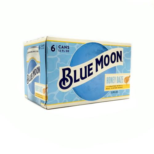 BLUE MOON HONEY DAZE 6pk 12oz. Cans
