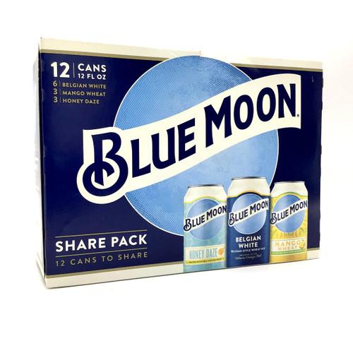 BLUE MOON SAMPLER 12pk 12oz. Cans