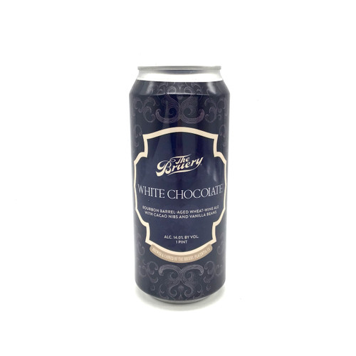 BRUERY WHITE CHOCOLATE BOURBON BARREL-AGED WHEAT-WINE ALE WITH CACAO NIBS AND VANILLA BEANS 500ml