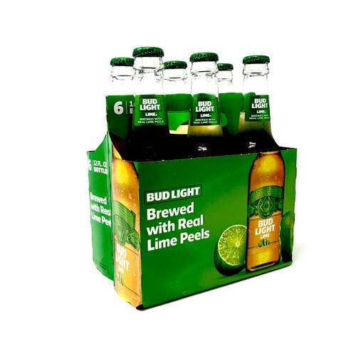 BUD LIGHT LIME 6pk 12oz. Bottles