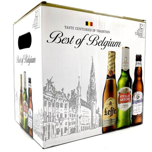 BELGIAN SAMPLER 12pk 12oz. Bottles