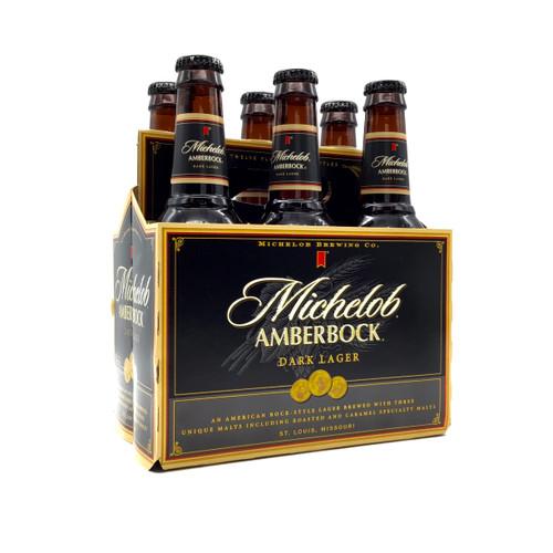 MICHELOB AMBER BOCK 6pk 12oz. Bottles