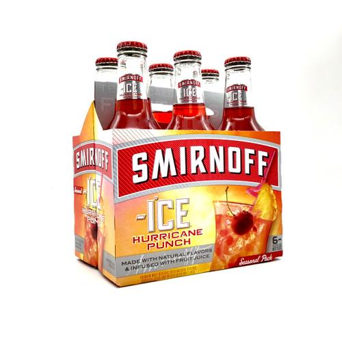 SMIRNOFF HURRICANE PUNCH 6pk 12oz. Bottles