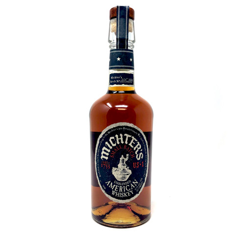 MICHTERS SMALL BATCH AMERICAN WHISKEY 750ml