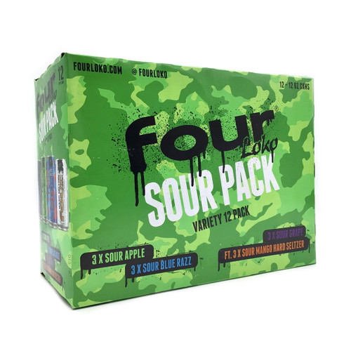 FOUR LOKO SOUR VARIETY PACK 12pk 12oz. Cans