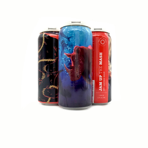 COLLECTIVE ARTS JAM UP THE MASH DRY HOPPED SOUR 4pk 16oz. Cans