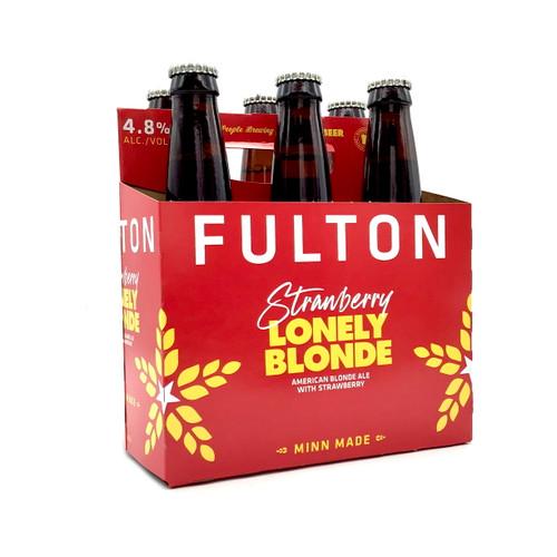 FULTON STRAWBERY LONELY BLONDE ALE 6pk 12oz. Bottles