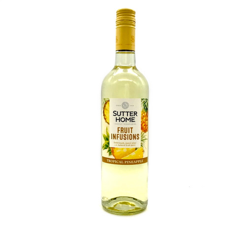 SUTTER HOME FRUIT INFUSIONS TROPICAL PINEAPPLE 750ml