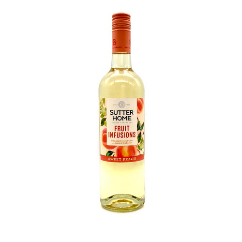 SUTTER HOME FRUIT INFUSIONS SWEET PEACH 750ml