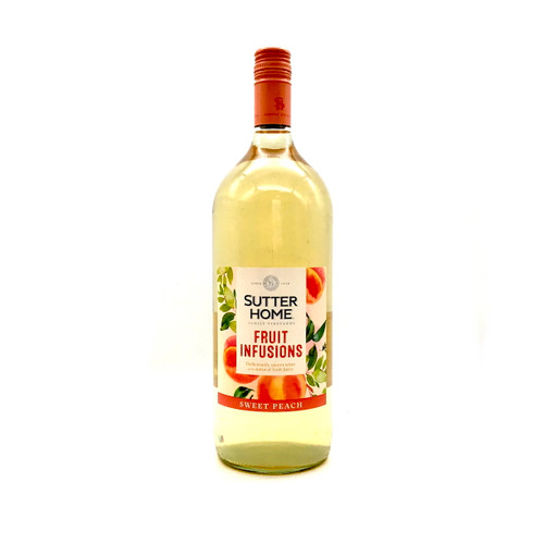SUTTER HOME FRUIT INFUSIONS SWEET PEACH 1.5L
