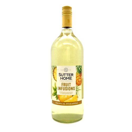 SUTTER HOME FRUIT INFUSIONS TROPICAL PINEAPPLE 1.5L