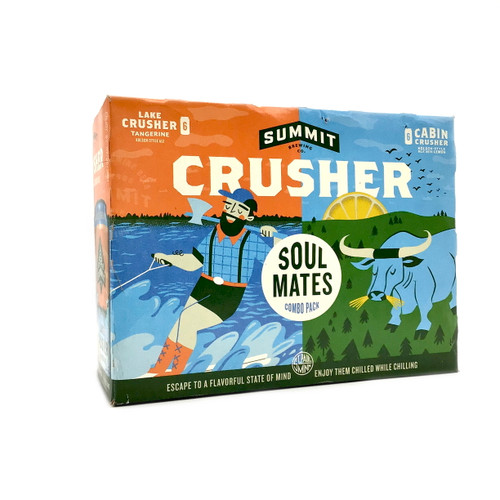 SUMMIT CRUSHER SOULMATES COMBO PACK 12pk 12oz. Cans