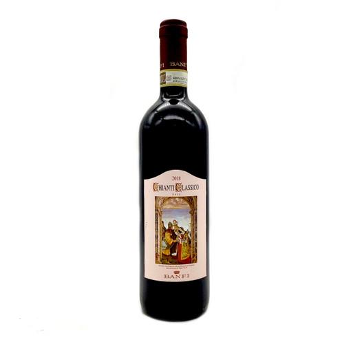 Bottle of Banfi Chianti Classico