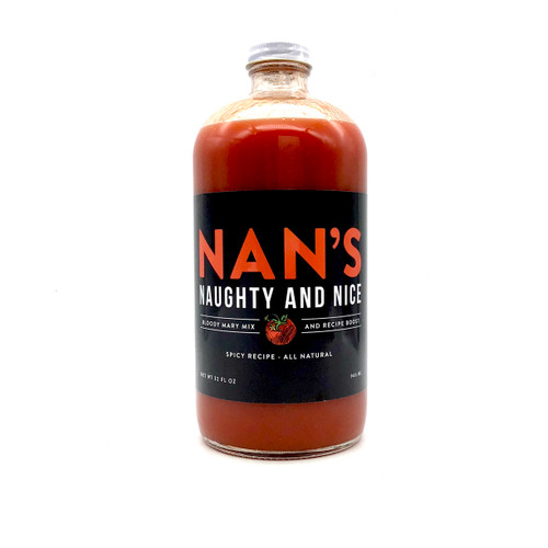 NAN'S SPICY BLOODY MARY MIX 32oz.