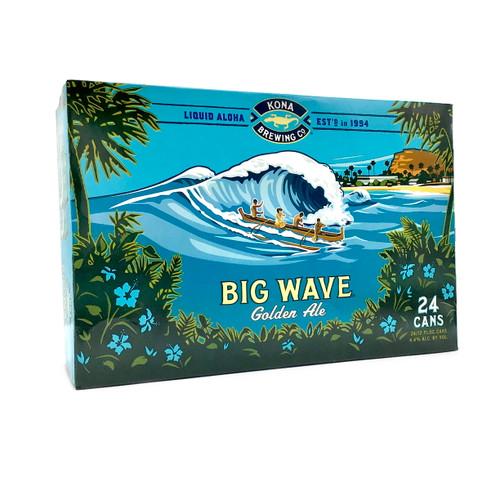 KONA BIG WAVE 24pk 12oz. Cans