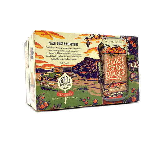 ODELL PEACH STAND C0612 6pk 12oz. Cans