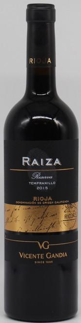 RAIZA RESERVA RIOJA TEMPRANILLO 750ml