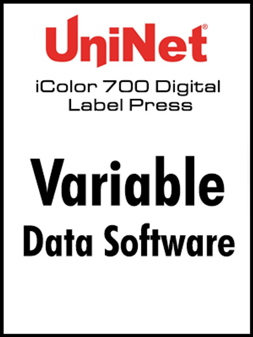 UniNet Variable Data Software for iColor 700