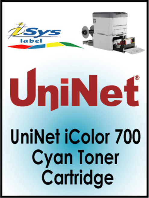 UniNet iColor 700 Cyan Toner Cartridge