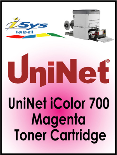 UniNet iColor 700 Magenta Toner Cartridge