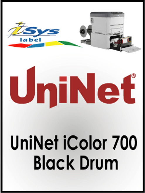 UniNet iColor 700 Black Drum