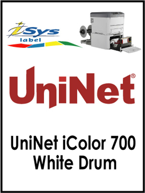 UniNet iColor 700 White Drum