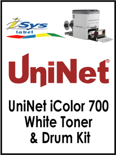 UniNet iColor 700 White Toner & Drum Kit