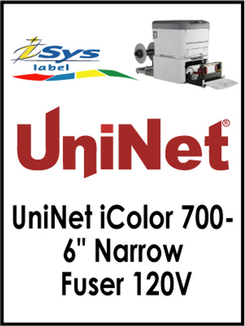 "UniNet iColor 700- 6"" Narrow Fuser 120V"