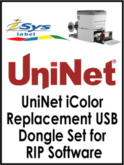 UniNet iColor Replacement USB Dongle Set for RIP Software
