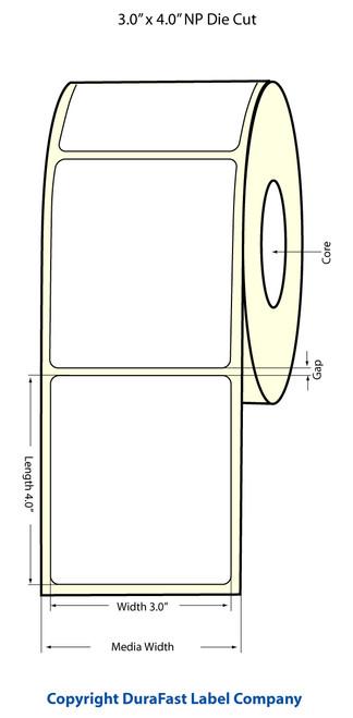 Epson TM-C3500 | ColorWorks C3500 3x4 NP High Gloss Label Roll | Epson Media | 811026