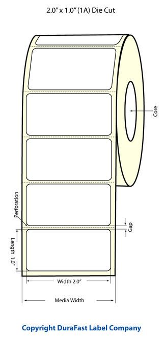 Epson TM-C3500 | ColorWorks C3500 2x1 High Gloss Label Roll | Epson Media | 811032