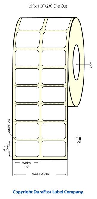 Epson TM-C3500 1.5x1 Matte Labels | Epson Media | 812008