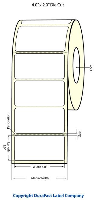 Epson TM-C3500 4x2 Matte BOPP Label Roll | Epson Media | 814019