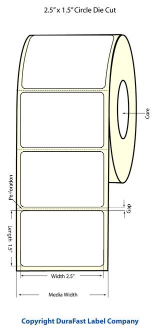 Epson TM-C3500 | ColorWorks C3500 2.5x1.5 High Gloss Label Roll | Epson Media | 811034