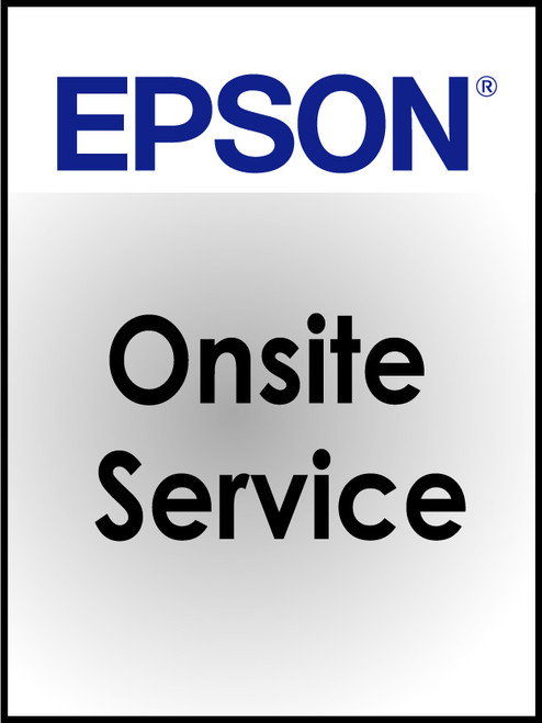 Epson TM-C7500/TM-C7500G Onsite Service - Per Year - max up to 4 years