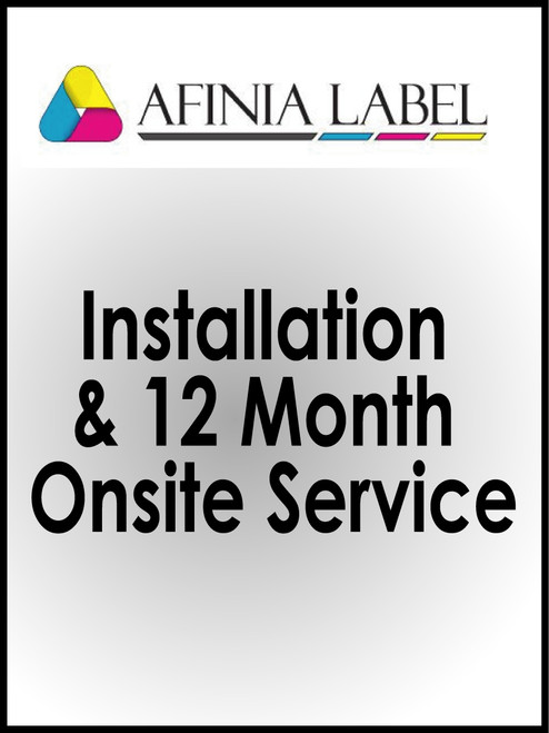 Afinia L801 Installation and 12 Month Onsite Service