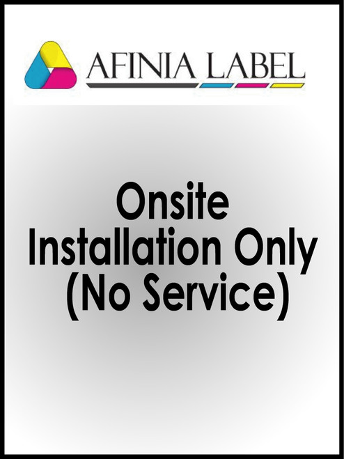 Afinia L801 Printer Onsite Installation & Setup with New Printer Purchase