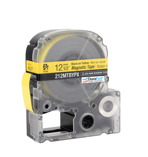 "Epson 212MTBYPX 1/2"" Yellow Glossy Magnetic PX Tape"