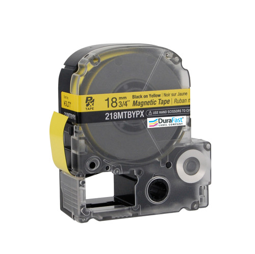 """Epson 218MTBYPX 3/4"""" Yellow Glossy Magnetic PX Tape"""