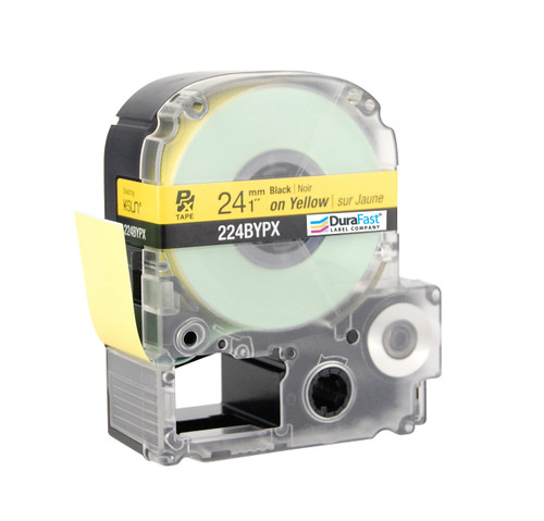 "Epson 224BYPX 1"" Yellow Glossy Polyester Label PX Tape"