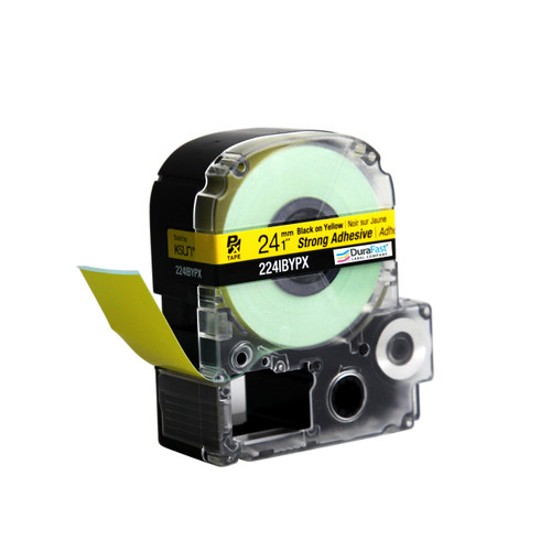 "Epson 224IBYPX 1"" Yellow Glossy Polyester Label PX Tape"