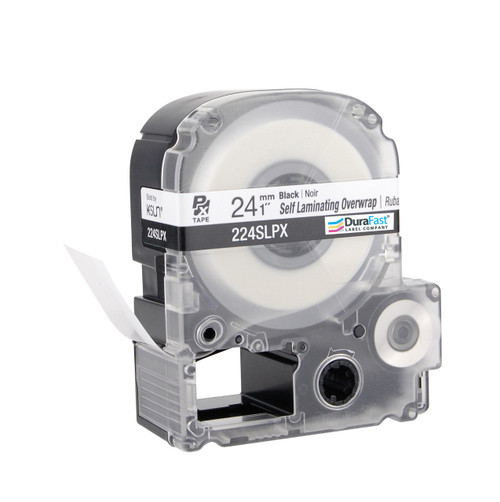 """Epson 224SLPX 1"""" Clear Glossy Self Lamination Label PX Tape"""