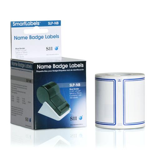 Seiko SLP620/650 2.125 x 2.75 White Name Badges SLP-NB
