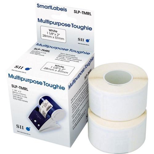 Seiko SLP620/650 1.125 x 2 White Multipurpose Labels SLP-TMRL