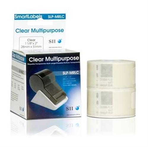 Seiko SLP620/650 1.125 x 2 White Multipurpose Labels SLP-MRLC