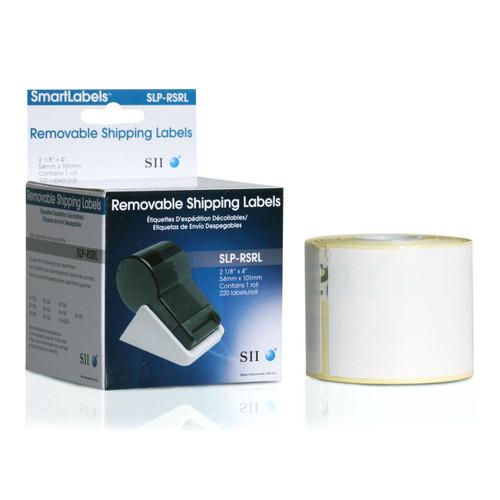 Seiko SLP620/650 2.125 x 4 White Removable Labels SLP-RSRL