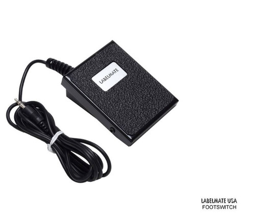 Labelmate Start & Stop Control Footswitch Accessories